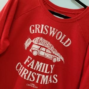 Red Griswold Family Christmas Vacation Sweatshirt